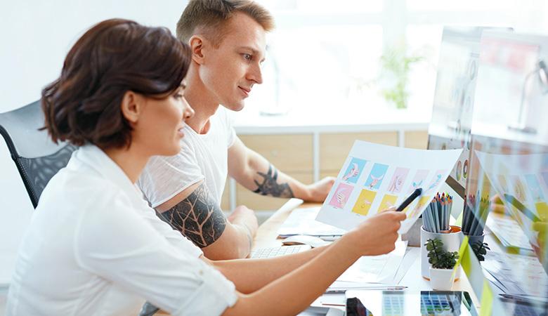 Lav et moodboard til webdesign inspiration